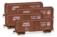 Pack 4 wagons Union Pacific - Z
