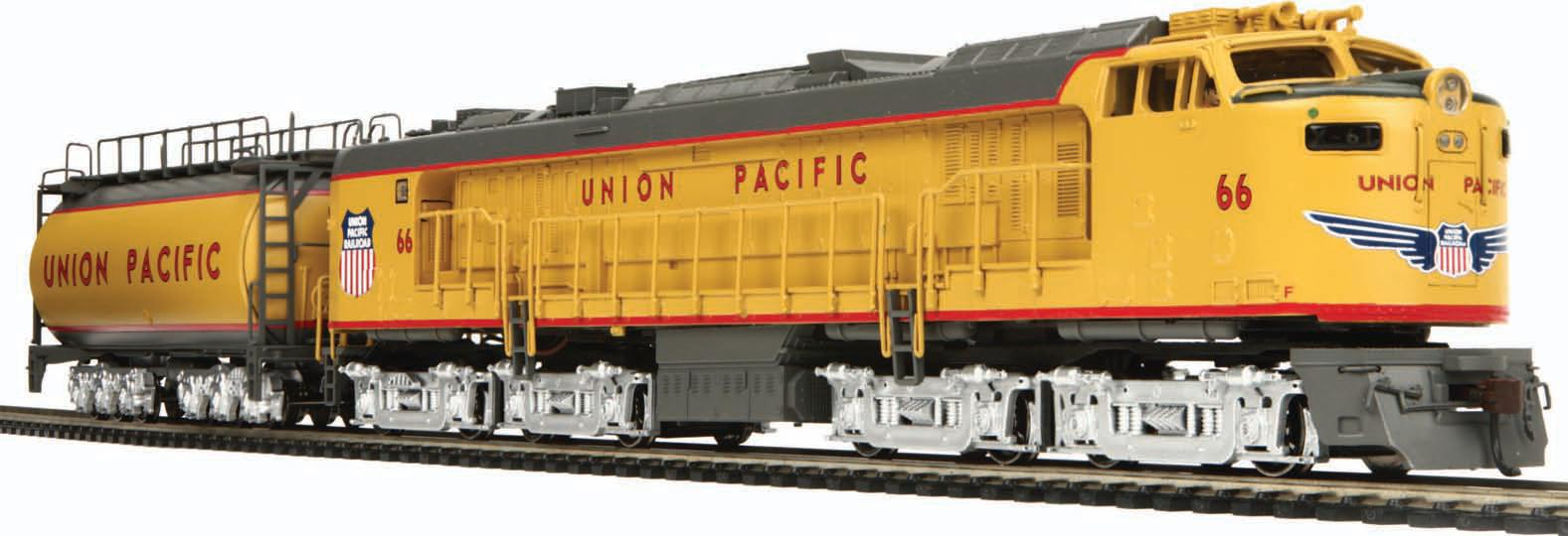 MTH HO UP Veranda Turbine Tender