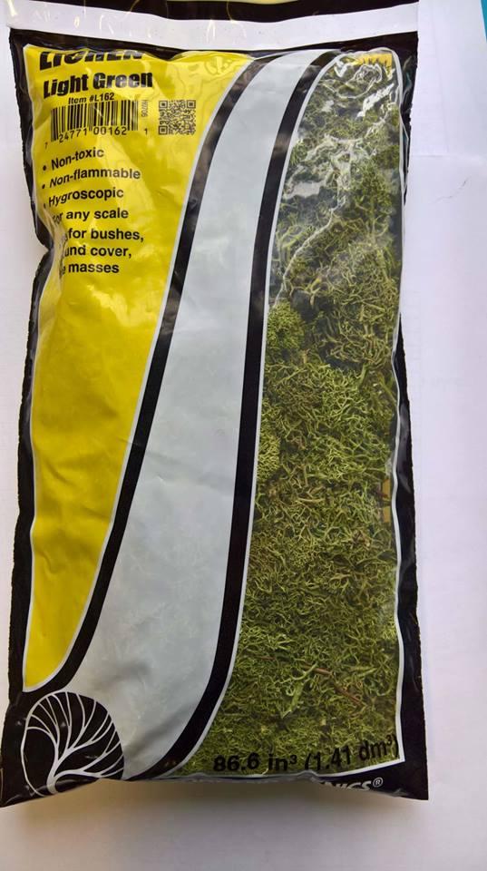 Woodland Scenics l162 vert clair